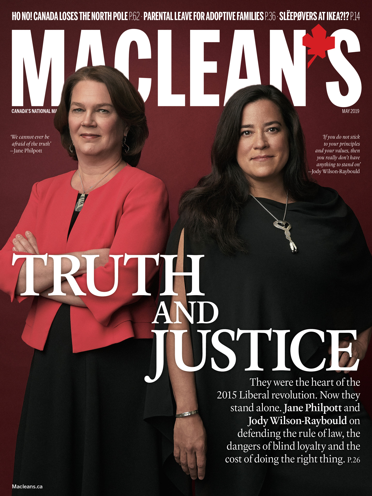 Jane Philpott and Jody Wilson-Raybould | Maclean