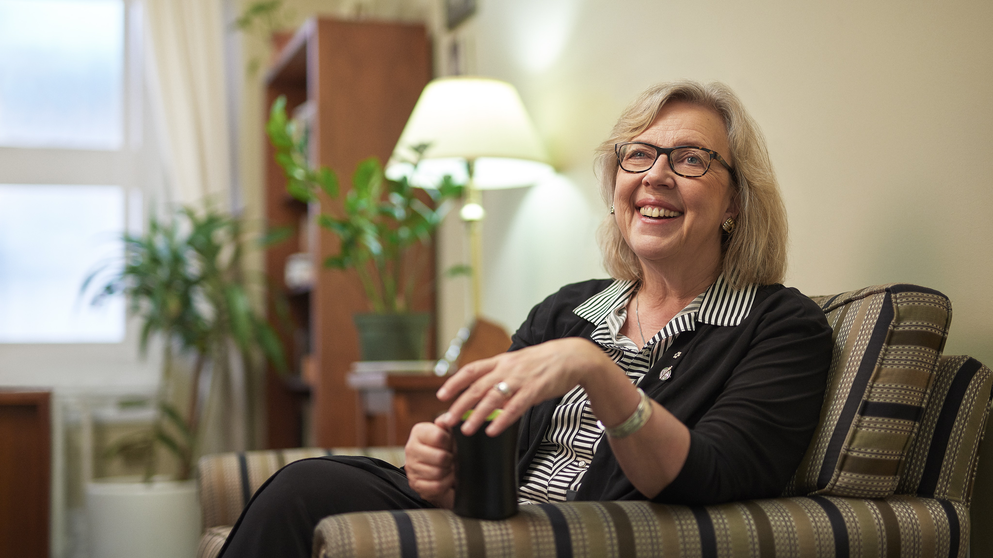 Elizabeth May, Leader of the Green Party of Canada | Maclean